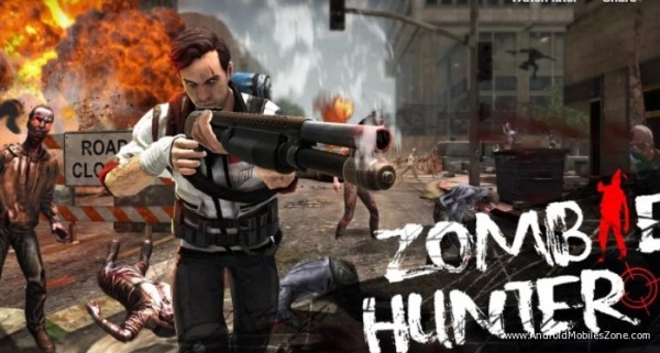 Click On Download Button Below To Download Zombie Hunter Mod Apk For Android 1 13 1 Zombie Hunter Hunter Games Zombie
