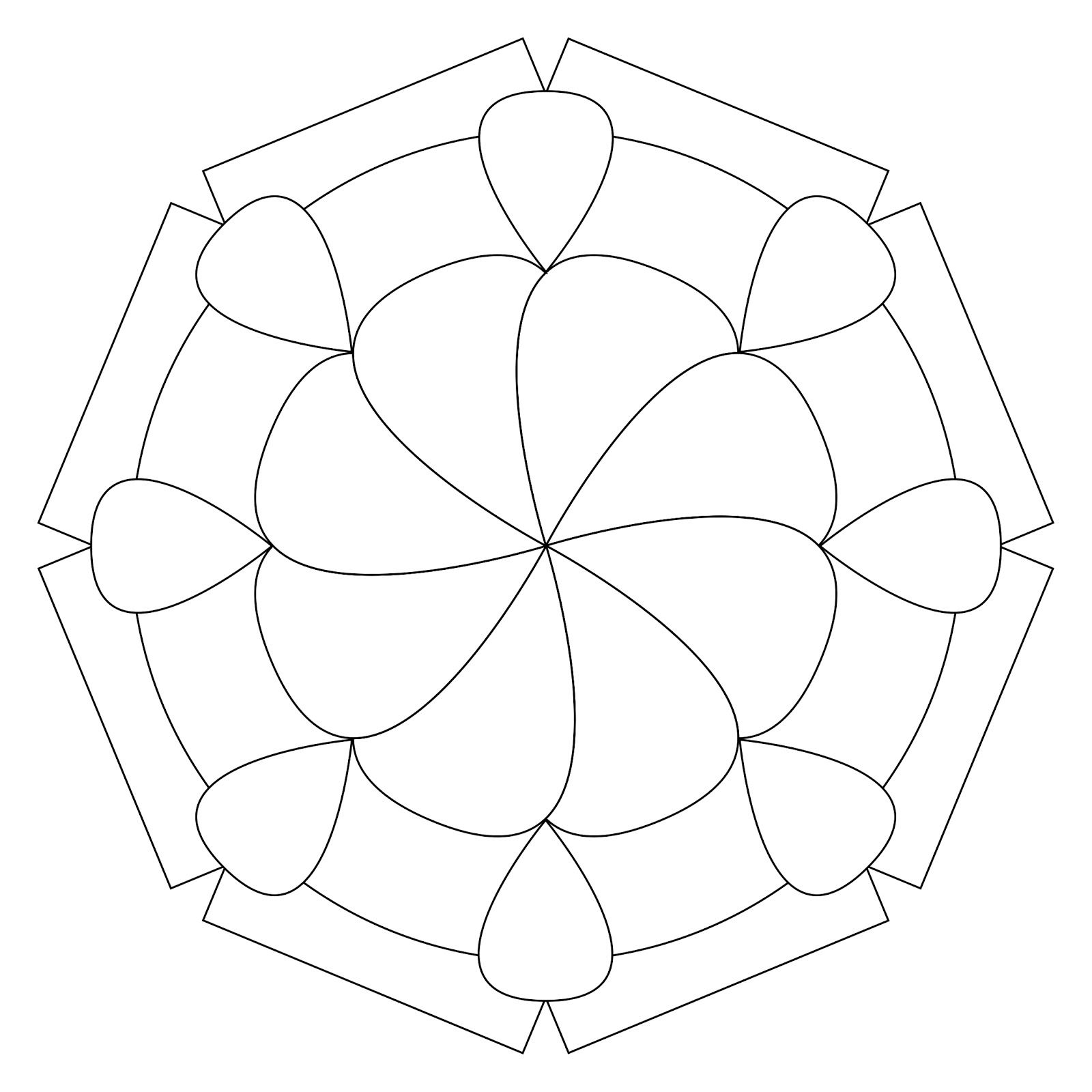 The Bright Owl Mandala Kleurplaten Zentangle Patronen Patronen