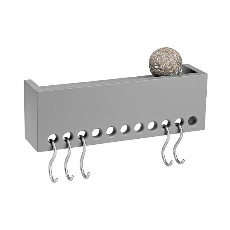 So-Hooked vegghylle mini-grå