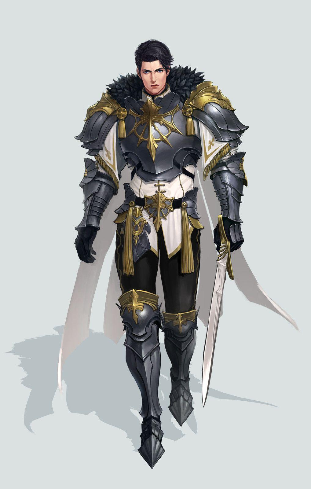 Image By Doug Halperin On 1aa Fantasy Art Men Anime Knight