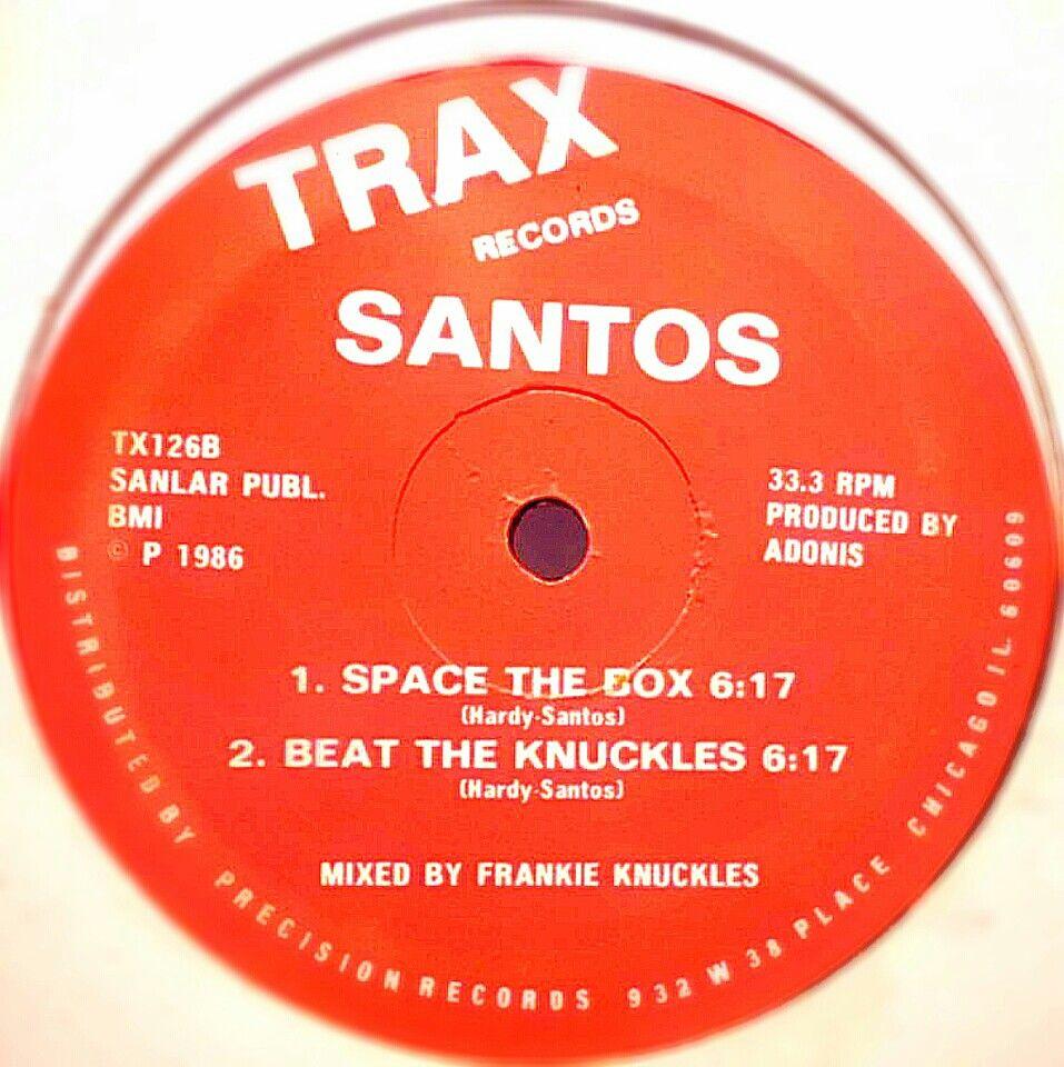Trax . Santos - Space The Box . 1986