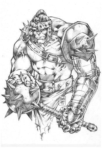 Hulk Gladiator By Marcio Abreu Hulk Comic Hulk Artwork