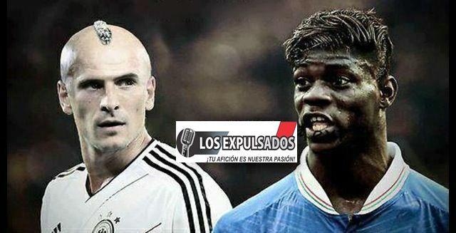 Mario Gomez y Ballotelli en un mundo paralelo