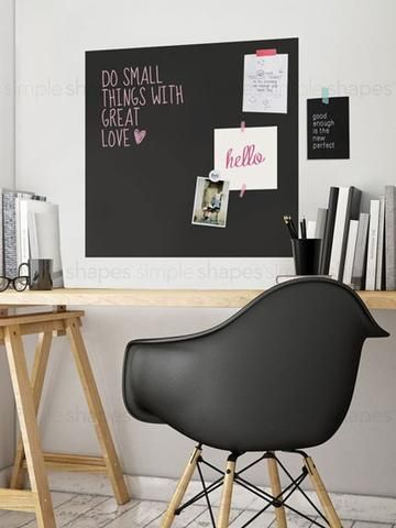 Chalkboard Wall Decal Square Chalkboard Walls Chalkboard - Wall decals you can write on