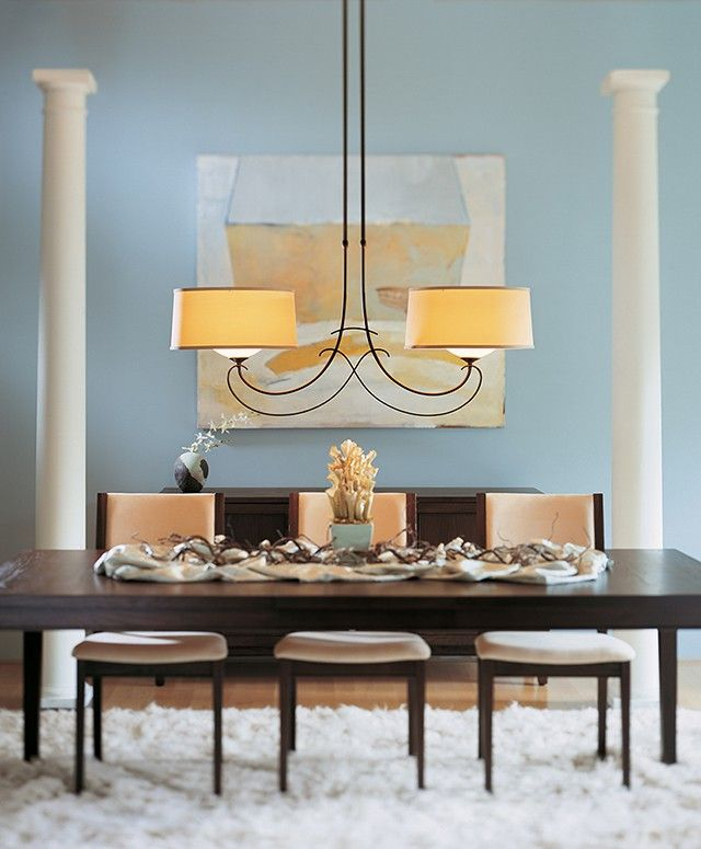 The Hubbardton Forge Almost Infinity chandelier adds