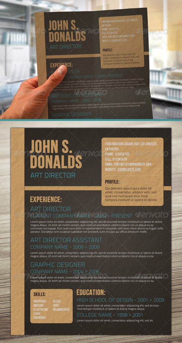 craft paper style resume resume cv design resume and creative