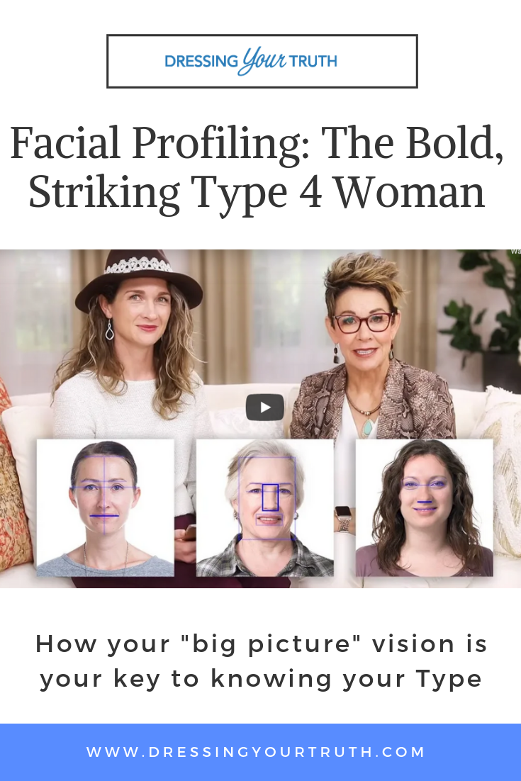 Facial Profiling: The Bold, Striking Type 4 Woman | Official