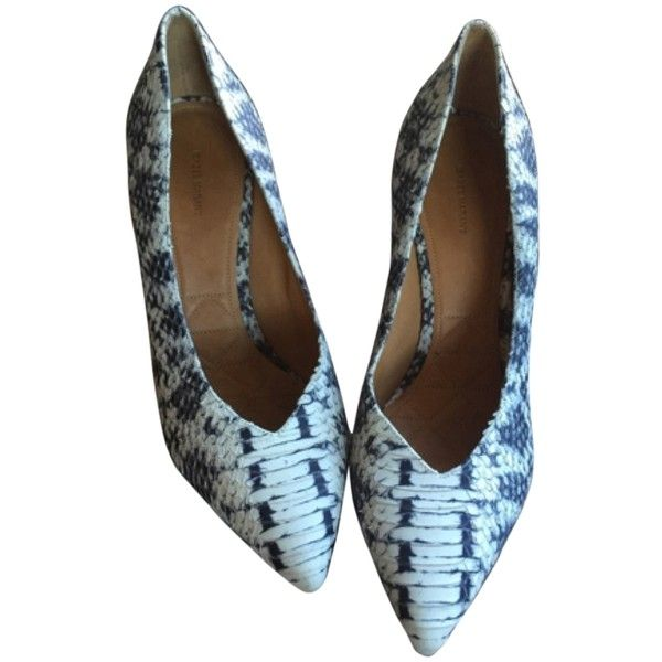 Pre-owned - Python heels Isabel Marant HcFEGg