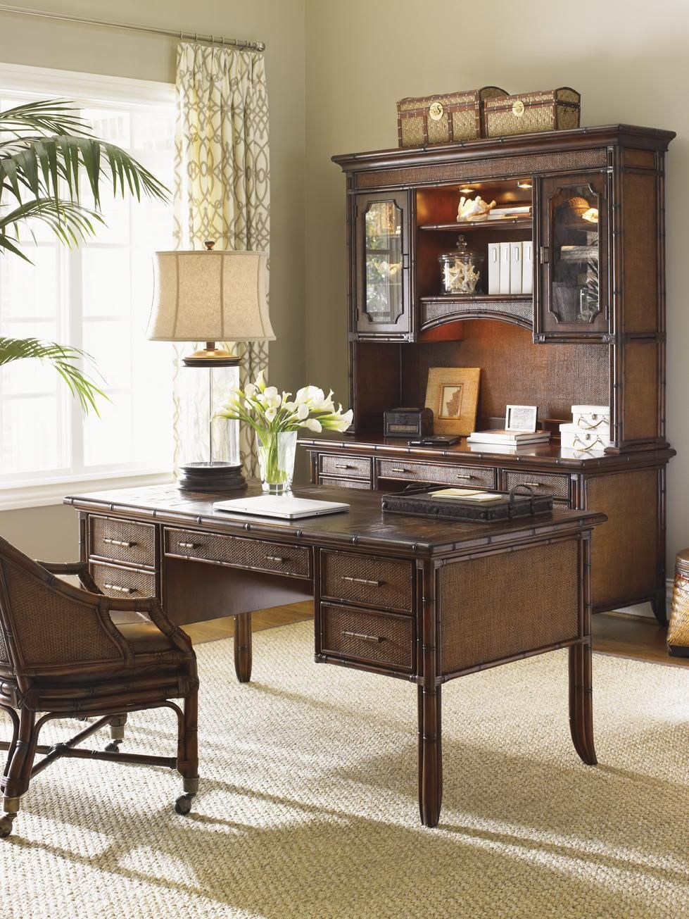 What S Your Style Cool Coastal Home Office From Sligh Furniture