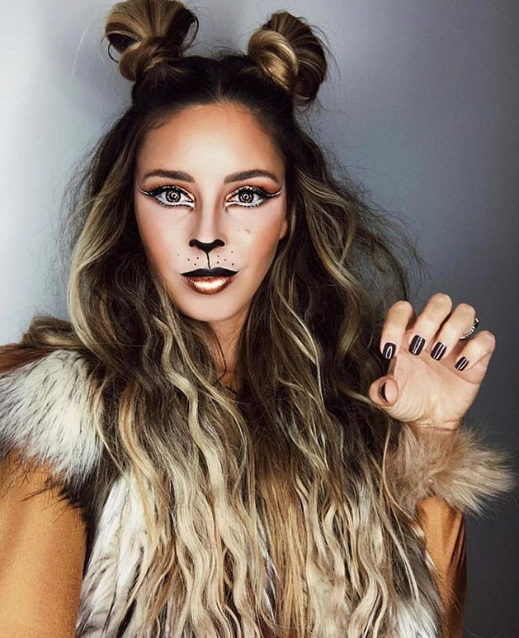 70 Genius College Halloween Costume Ideas For Girls The Metamorphosis Halloween Makeup Pretty Cute Halloween Makeup Creepy Halloween Makeup
