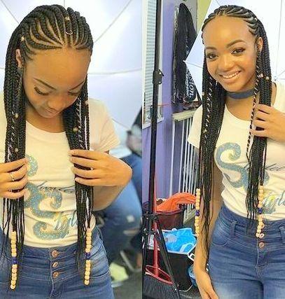 Erstaunliche Geflochtene Frisuren Fur Schwarze Frauen 2018 2019 Neue Frisurentrends Hair Styles African Braids Hairstyles Natural Hair Styles