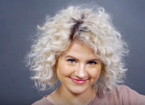 Short Curls Blonde Fro Short Tight Curls Short Curly Hair - Youtube short curly hair
