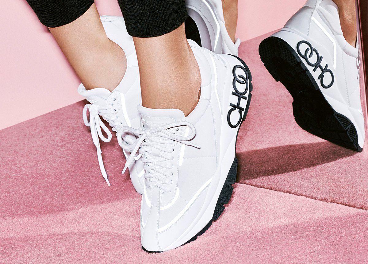Women's designer trainers, Jimmy choo shoes