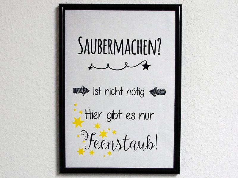 Originaldruck - Kunstdruck Familie Feenstaub - ein Designerstück von Ediths-Art bei DaWanda
