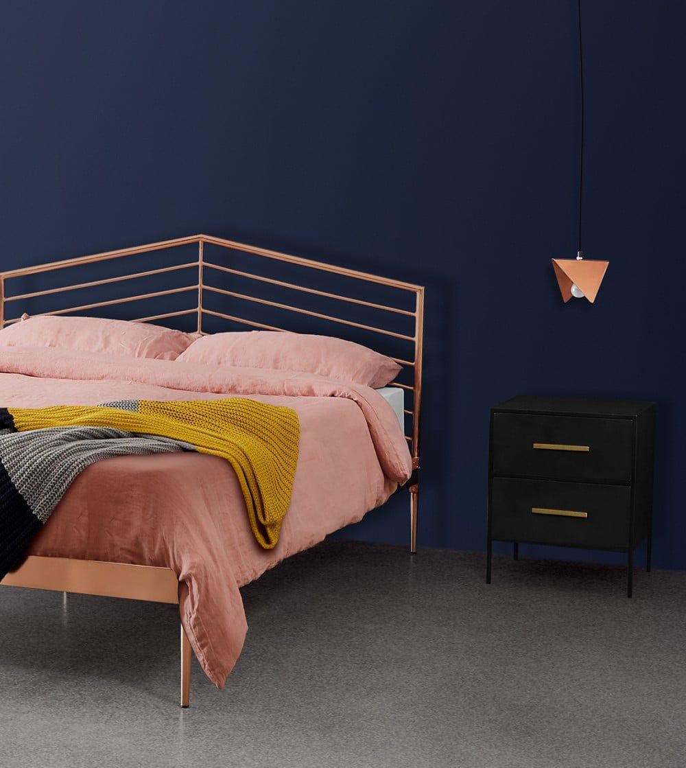 This richly designed Imogen bed from our Club Collection