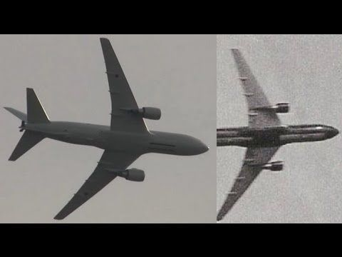 ▷ 9/11 New HQ Military Plane Footage - Undeniable new 9/11