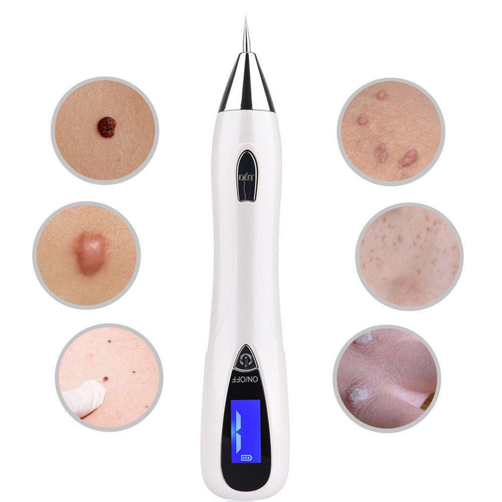 Us Pixy Pen Pro Mole Skin Tag Remover Pen Kit 9 Gears Uv Spotlight