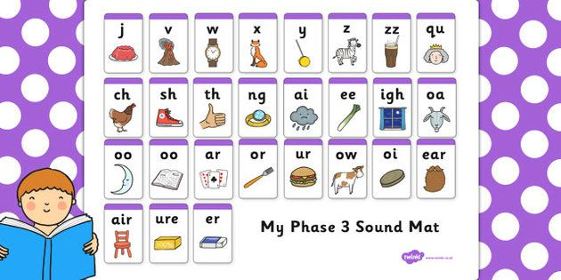 Games For Phonics Phase 3