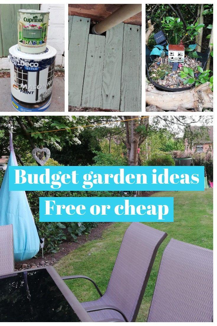 Cheap &Free Garden Improvements - Makeover | Budget garden ...