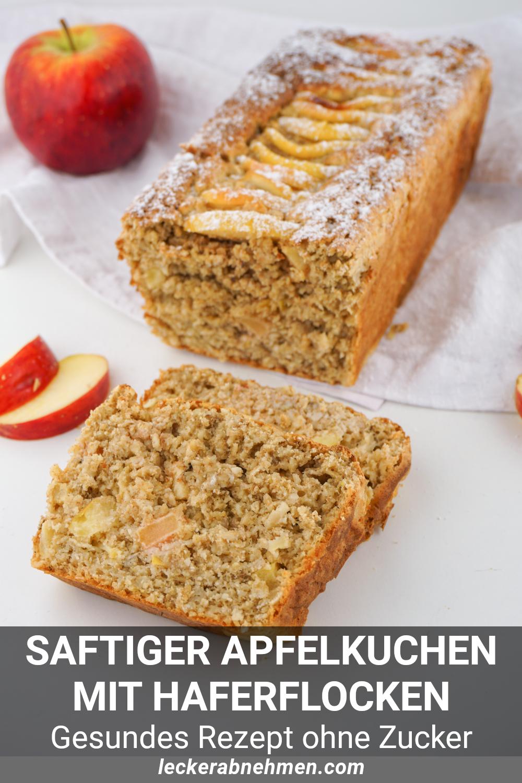 Apfel Haferflocken Kuchen Ohne Zucker Gesundes Fitness Rezept In 2020 Haferflocken Kuchen Kuchen Rezepte Ohne Zucker Brot Backen Rezept Einfach