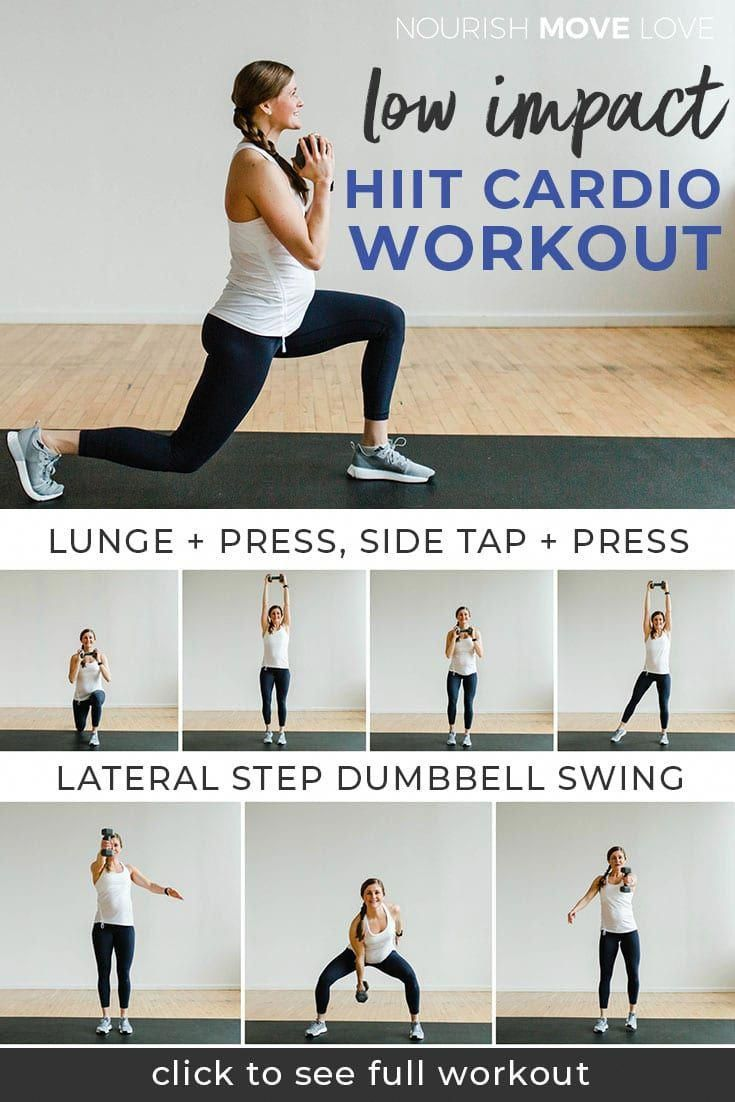 10-Minute Low Impact HIIT Workout for Beginners | Nourish Move Love