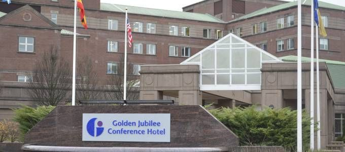 The Golden Jubilee Conference Hotel In Schottland Glasgow Ex Beardmore Hotel Conference Hotel Hotel Golden Jubilee