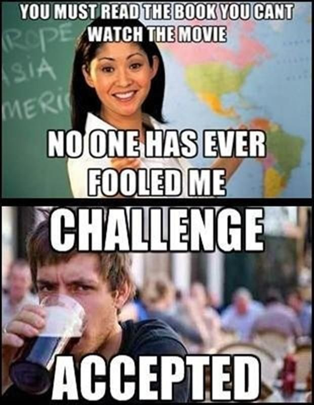 The Best Of Challenge Accepted 30 Pics Funny School Memes School Quotes Funny Funny School Jokes