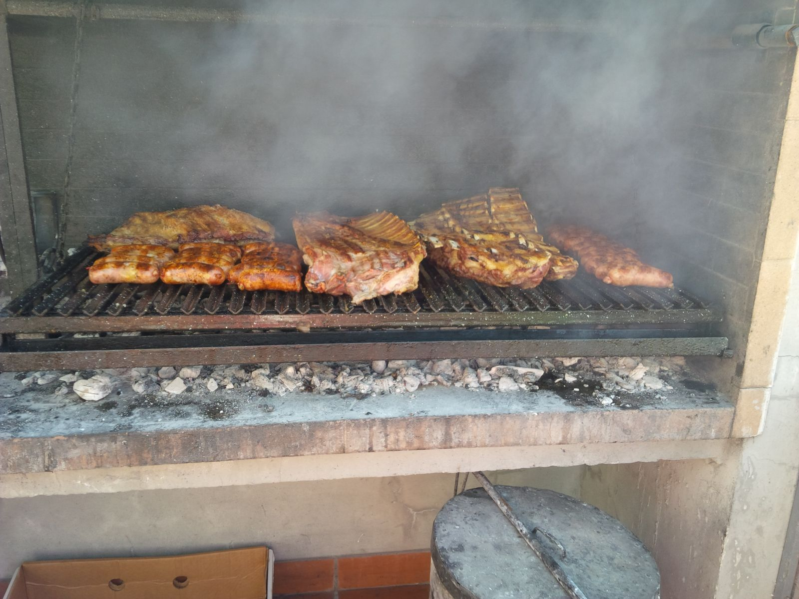 "Argentinian "" Asado"", BBQ."