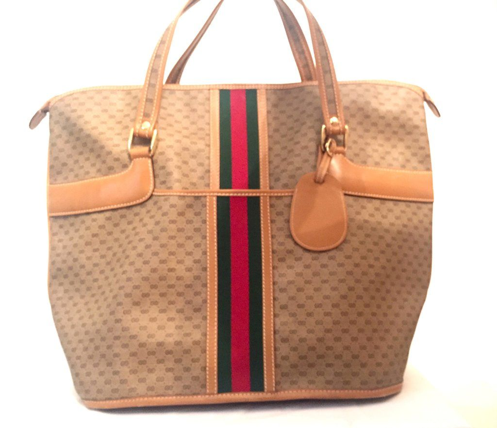 ccc8c912224 Gucci Vintage Weekend Extra Large Travel Bag