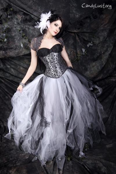 bfcf1a17d6a I found  Black White Silver NMBC Prom Wedding TuTu Skirt Formal  on Wish