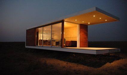 Casa prefabbrica case prefabbricate casa sostenibile for Architettura interni case