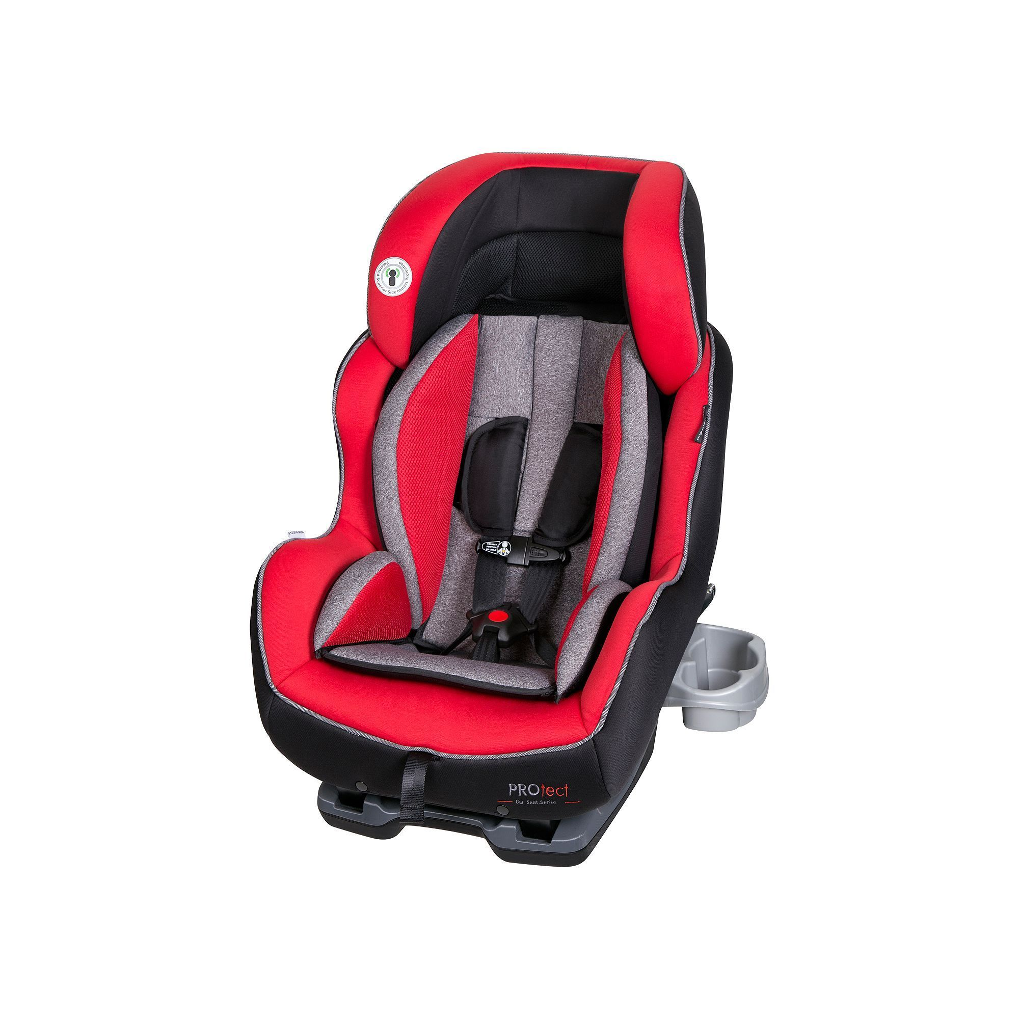 Baby trend protect premiere convertible car seat red