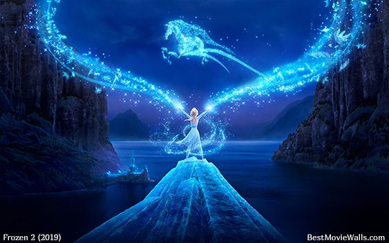Elsa S Magic Frozen 2 Wallpaper Frozen Wallpaper Disney Princess Wallpaper Beautiful wallpaper magical background