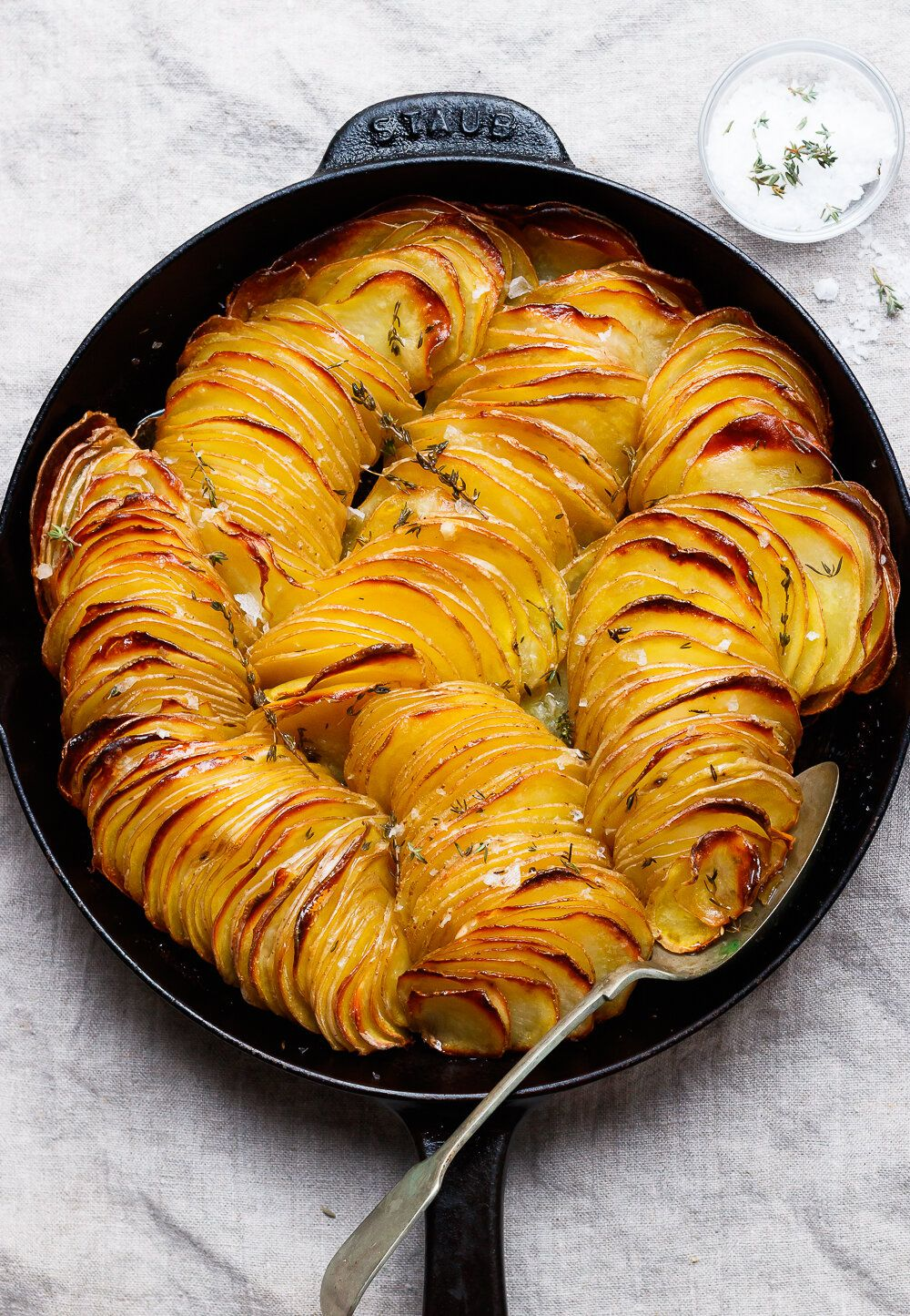 Crispy Roast Potatoes with Thyme  — Amanda Frederi