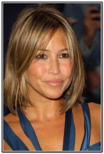 Haircut For Fine Straight Hair Oval Face