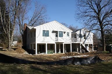 Raised ranch rear additions addition remodel for Westport homes ranch floor plans