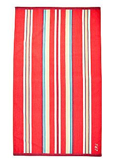 Lauren Ralph Lauren Home Awning Striped Red Beach Towel Belk