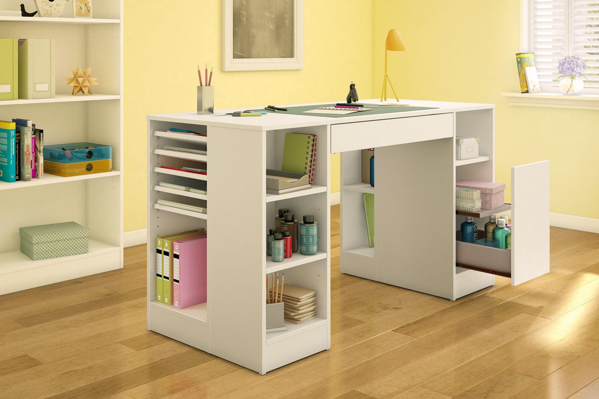 Crea 53 5 X 23 6 Craft Table Craft Table Diy Craft Table Craft Room Storage