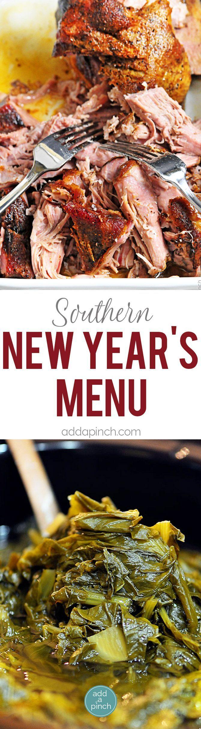 Southern New Year's Menu New year menu, New years day