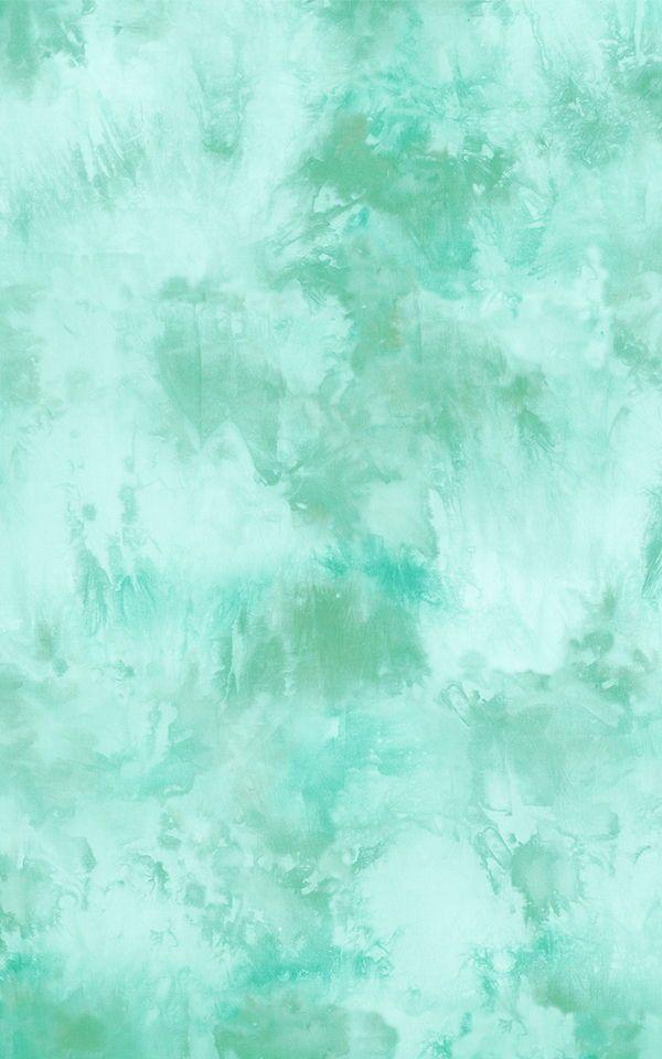 Cool Green Tie Dye Wallpaper Mural