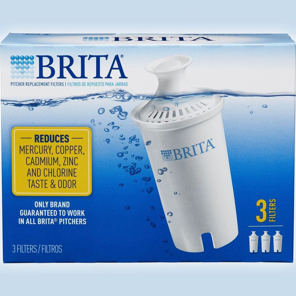 Brita standard replacement filters for pitchers dispensers