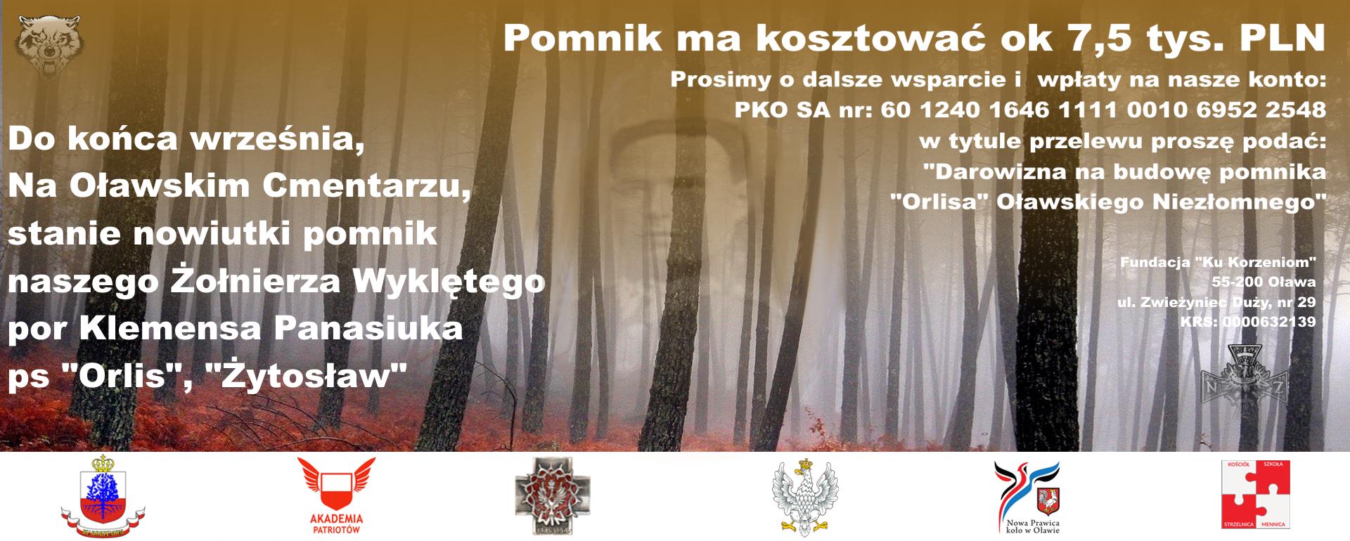 Ratują zapomniany grób Żołnierza Wyklętego w Oławie