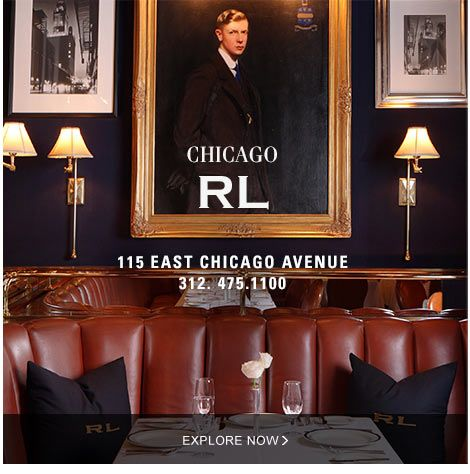 Ralph Lauren Restaurant Chicago. This is such a wonderful and fun place