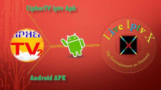 CipherTV Launcher Iptv APK CipherTV Launcher APK - Change