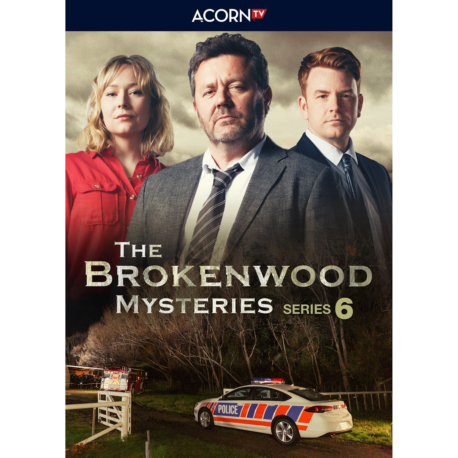 Brokenwood Mysteries: Series 6 Blu-ray & Dvd - Blu Ray