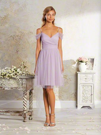 Vintage Purple Bridesmaid Dresses with Arms