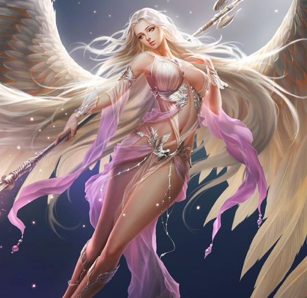 Fantastique league of angels- fortuna angel of fortune and fate | Craft Ideas LG-67