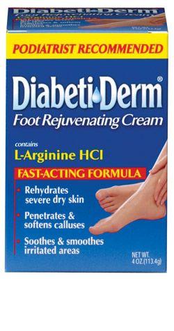 Diabetic Derm: Foot Rejuvenating Cream | Diabetic Relief