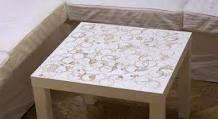 La mesa Lack de Ikea puede dar mucho juego | Decorar tu casa es facilisimo.com                                                                                                                                                     Más