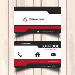 Free Simple Modern Name Card Template Name Card Design Business Card Logo Design Business Card Template Word